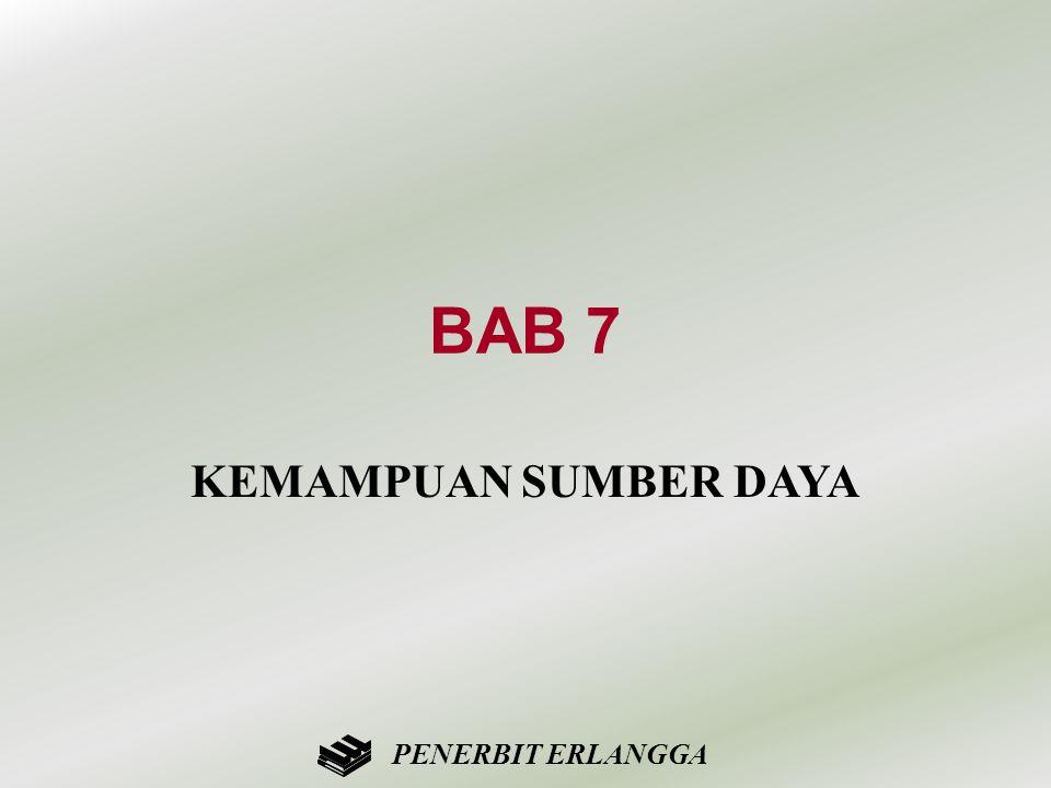 BAB 7 KEMAMPUAN SUMBER DAYA PENERBIT ERLANGGA