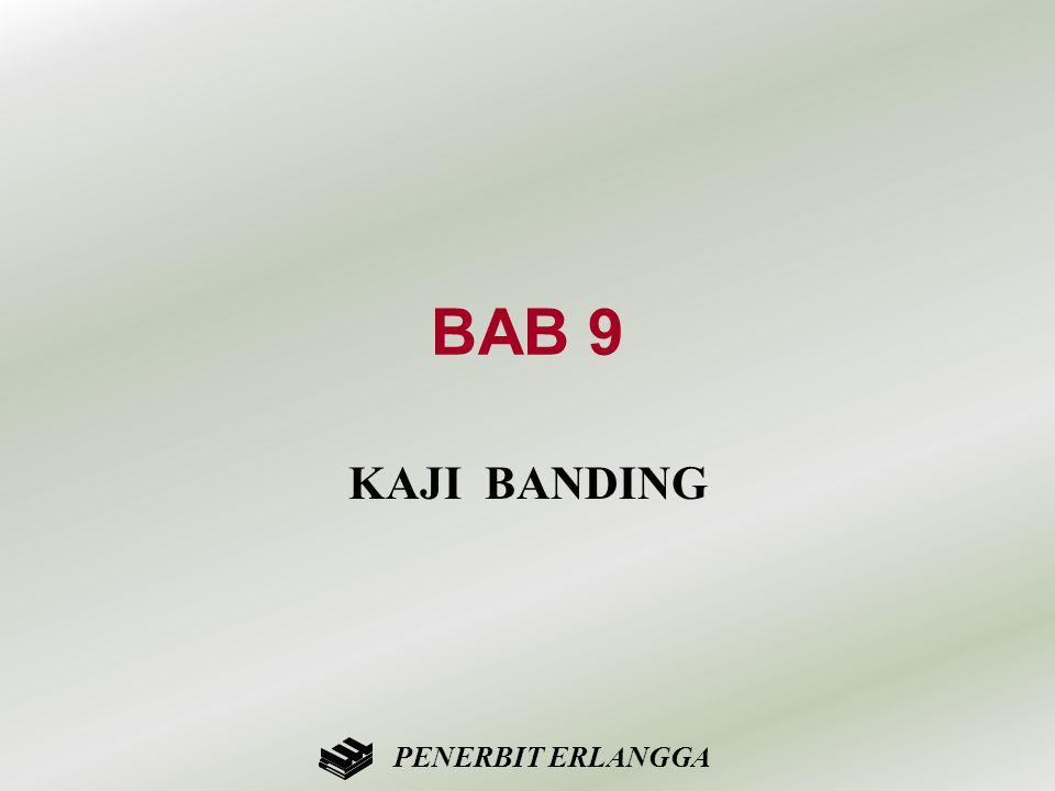 BAB 9 KAJI BANDING PENERBIT ERLANGGA