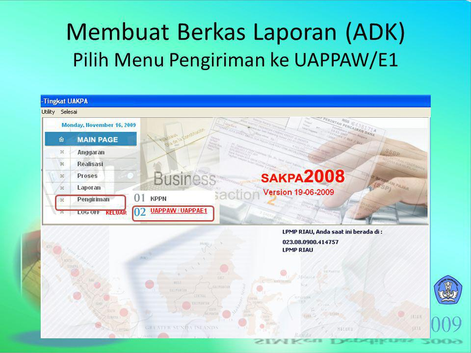 Mengunduh (download) Berkas Laporan Unduh Register Pengiriman