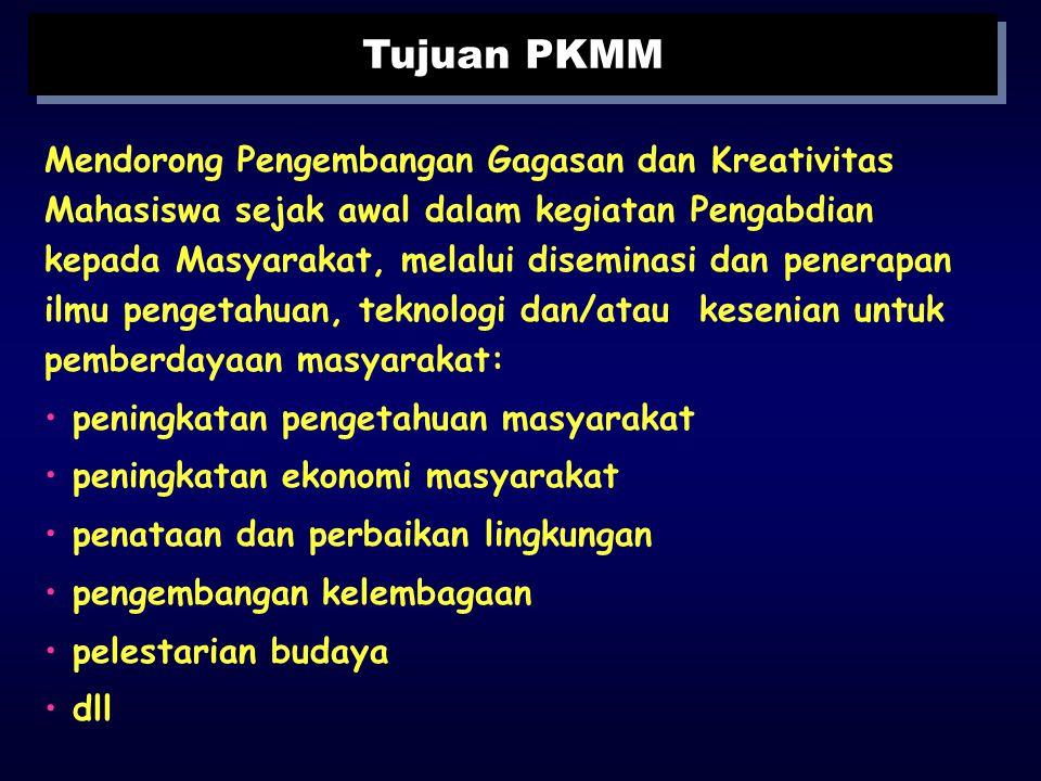 Penyusunan Proposal Program Kreativitas Mahasiswa Pengabdian pada Masyarakat (PKMM) Penyusunan Proposal Program Kreativitas Mahasiswa Pengabdian pada
