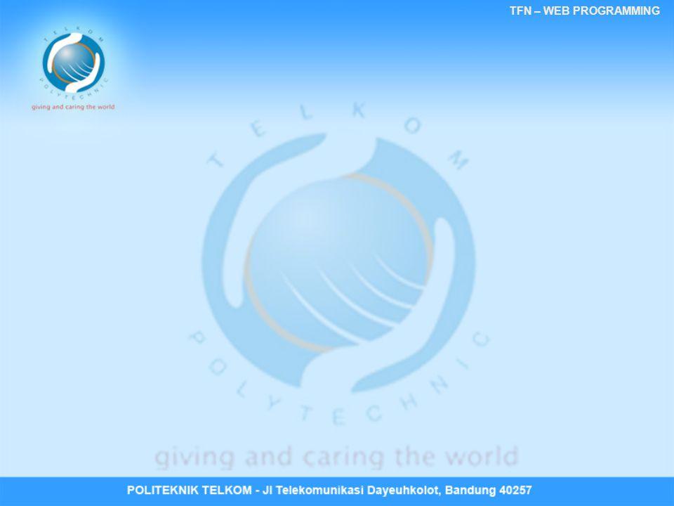 TFN – WEB PROGRAMMING