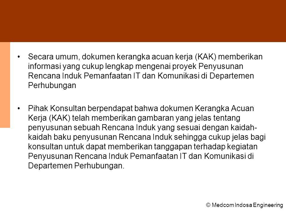 © Medcom Indosa Engineering Pemetaan Program dan Aplikasi