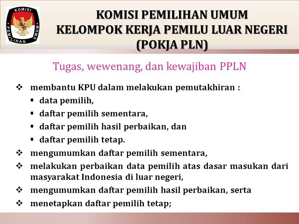  membantu KPU dalam melakukan pemutakhiran :  data pemilih,  daftar pemilih sementara,  daftar pemilih hasil perbaikan, dan  daftar pemilih tetap.