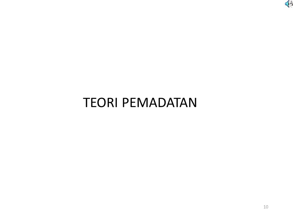 TEORI PEMADATAN 10