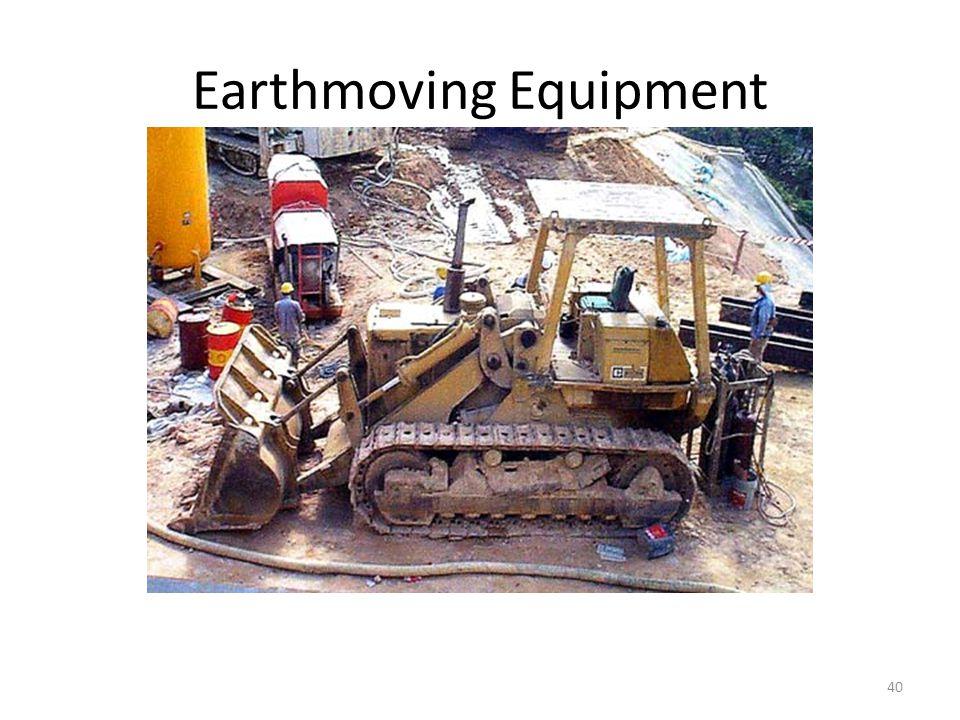 Earthmoving Equipment 40 Bulldozer for spreading soil evenly