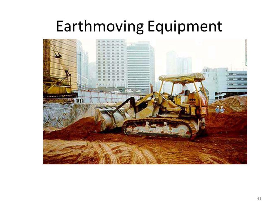 Earthmoving Equipment 41 Loader