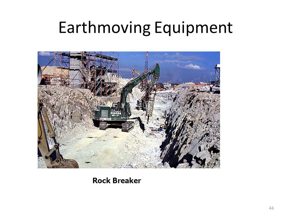 Earthmoving Equipment 44 Rock Breaker