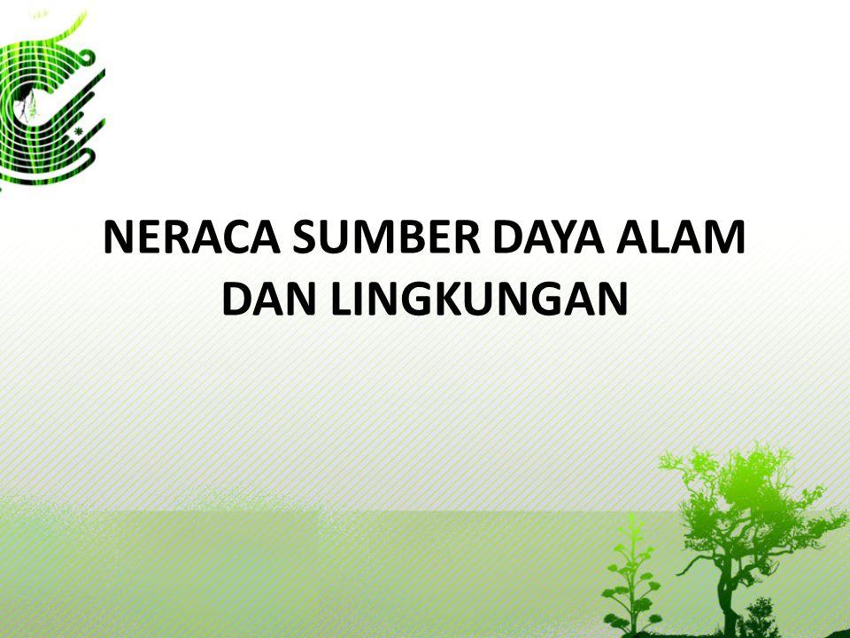 Ruang Lingkup dan Cakupan  Aset Alam: 1.Aset alam yang bersifat ekonomis Aset alam yg kepemilikannya telah bisa dikontrol oleh pemiliknya.