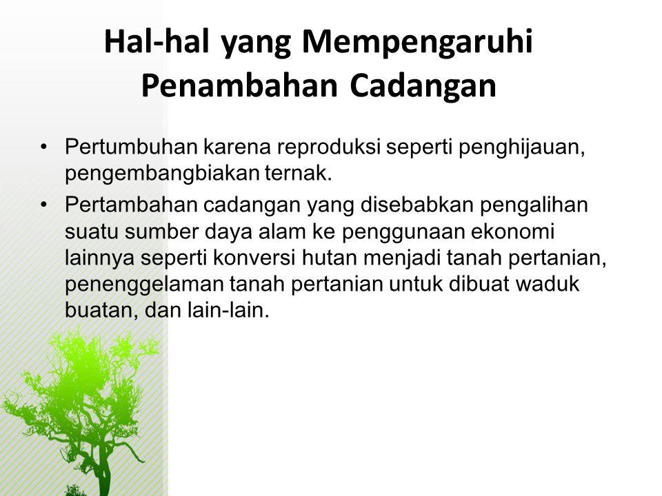 KETERBATASAN LINGKUP • PDB HIJAU Indonesia baru mampu penghitungan deplesi saja belum degradasi • Komoditi yang dihitung baru 9 komoditi: kayu, minyak bumi, gas alam, batubara, timah, emas, perak dan bauksit dan bijih nikel.