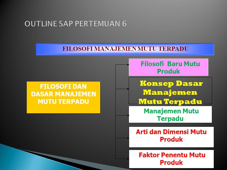 CUSTOMER FOCUS (FOCUS PELANGGAN) LEADERSHIIP (KEPEMIMPINAN) INVOLMENT OF PEOPLE (PERLIBATAN KARYAWAN)