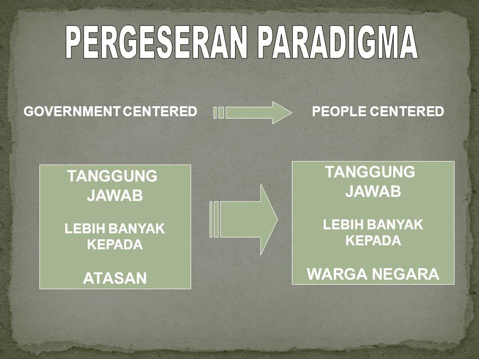 1.Merumuskan : •Kebijakan dalam peningkatan kualitas pelayanan publik •Kebijakan dalam penyusunan Penetapan Kinerja Pejabat •Kebijakan penerapan prinsip-prinsip good governance 2.
