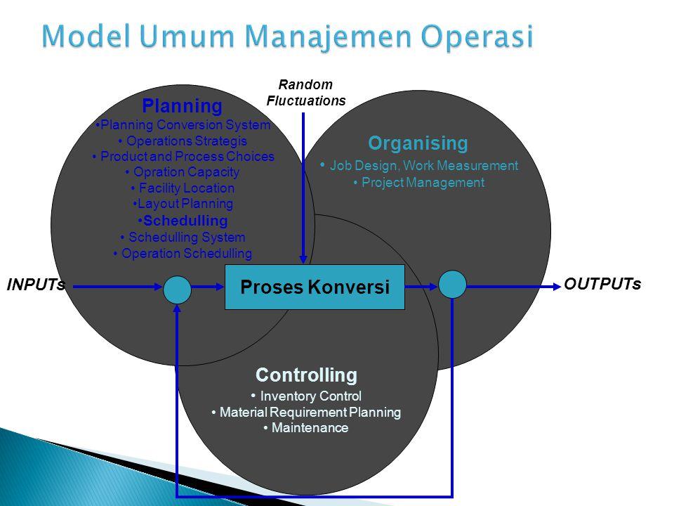  Pentingnya Strategi Pemeliharaan  Kategori-Kategori Pemeliharaan ◦ Pemeliharaan Pencegahan ◦ Pemelihraan Pemogokan  Model Simulasi untuk Kebijakan Pemeliharaan