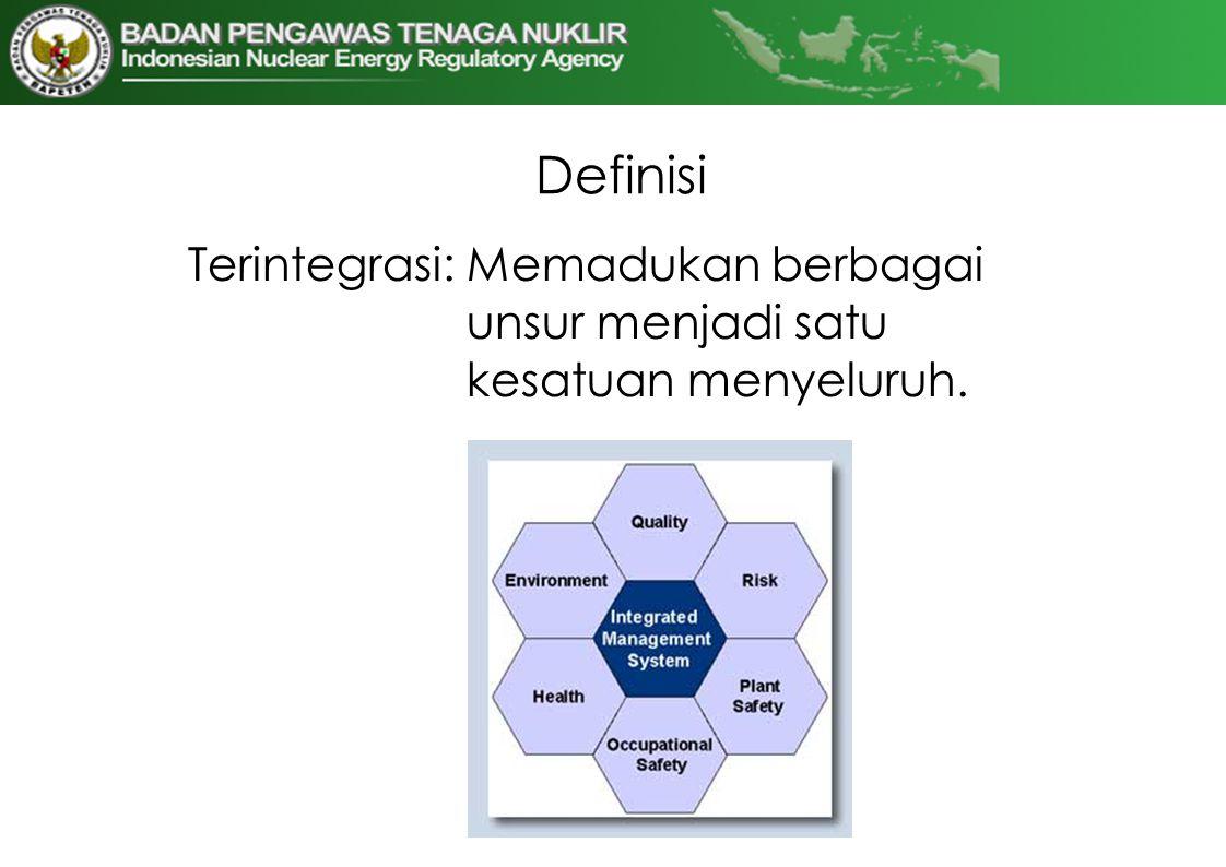 Definisi Terintegrasi: Memadukan berbagai unsur menjadi satu kesatuan menyeluruh.