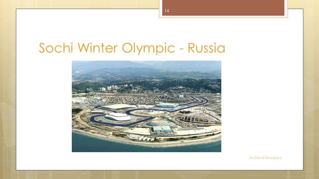 By David Tanudjaya 14 Sochi Winter Olympic - Russia