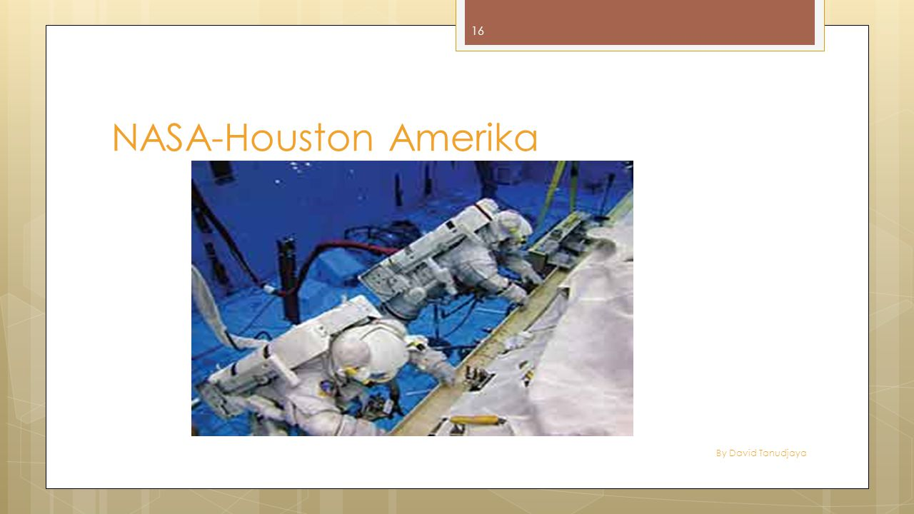 By David Tanudjaya 16 NASA-Houston Amerika