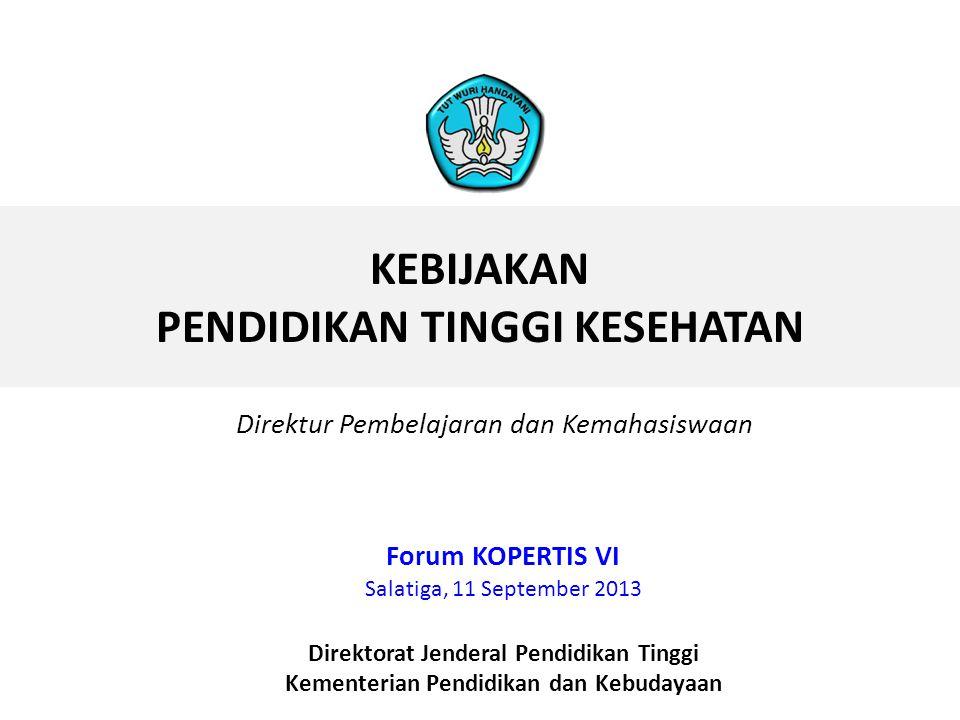 STANDAR KOMPETENSI & PENDIDIKAN BLUE PRINT KOMPETENSI (soal) INSTRUMEN AKREDITASI AKREDITASI STATUS AKREDITASI UJI KOMPETENSI USER KUALITAS LULUSAN DI PELAYANAN LAM PSKes Lembaga Pengembangan Uji Kompetensi (LPUK) DEMAND (Global & nasional) (MUTU INSTITUSI) (MUTU INDIVIDU) *) Lembaga Pemerintah Non Kementerian (LPNK)/Lembaga Mandiri • Industri • Masyara kat • Kurikulum • Sarpras • Proses Pembelajaran • PT • OP • AIP T • OP • Kolegium • LPNK * KERANGKA KERJA SISTEM PENJAMINAN MUTU PENDIDIKAN TINGGI KESEHATAN