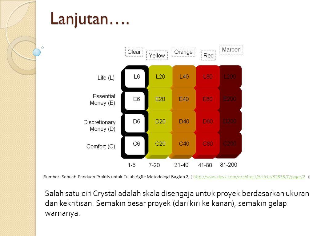 Crystal Clear Crystal Clear adalah anggota dari keluarga Kristal metodologi seperti yang dijelaskan oleh Alistair Cockburn dan dianggap contoh dari metodologi tangkas atau ringan.