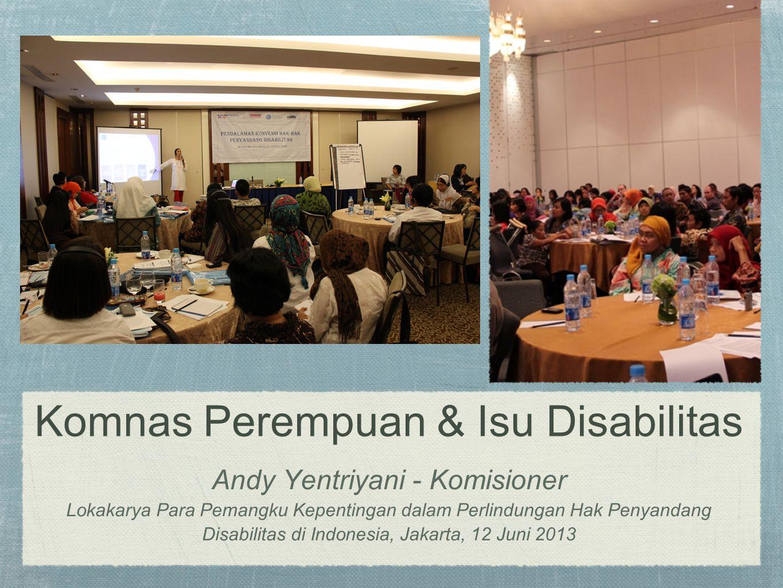 Komnas Perempuan & Isu Disabilitas Andy Yentriyani - Komisioner Lokakarya Para Pemangku Kepentingan dalam Perlindungan Hak Penyandang Disabilitas di I