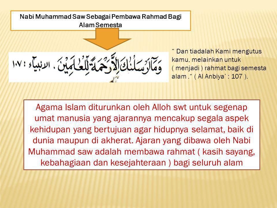 Nabi Muhammad Saw. Membangun Manusia Yang Mulia dan Bermanfaat. Di dalam membangun masyarakat beliau selalu memberikan keteladanan yang baik kepada um