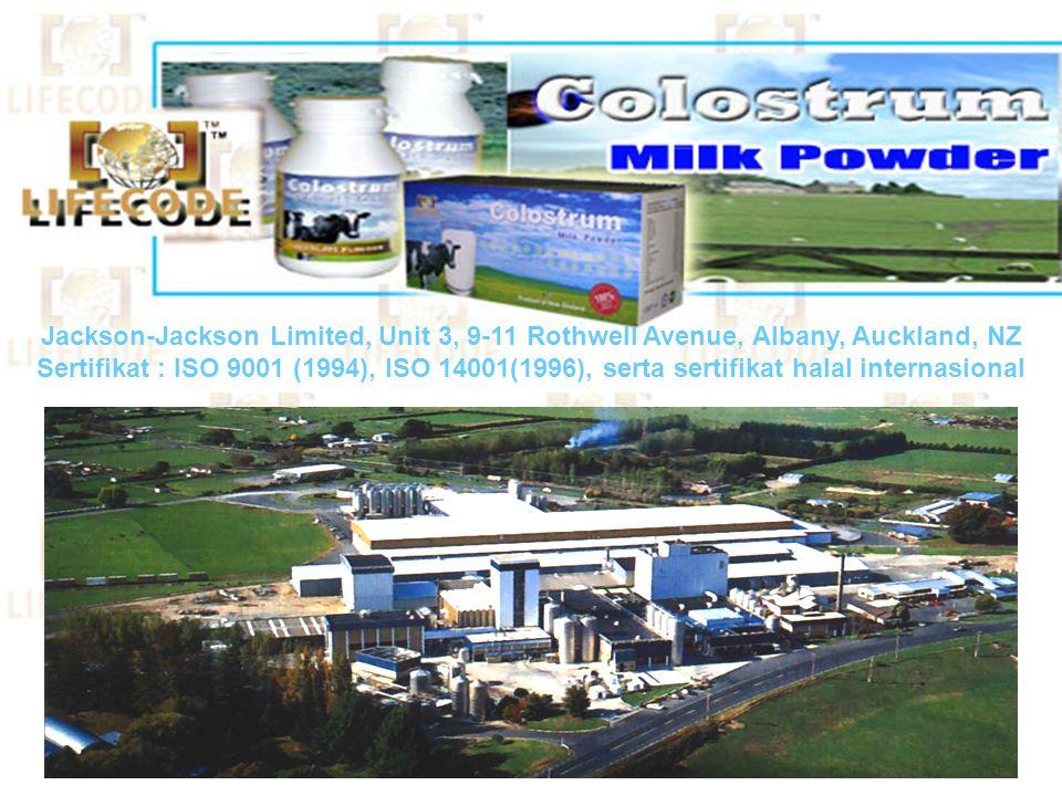 PROSES PEMBUATAN YANG CANGGIH • Kolostrum diproses pada temperatur rendah dengan teknologi yang canggih • Di bawah Quality Management System, HACCP ba