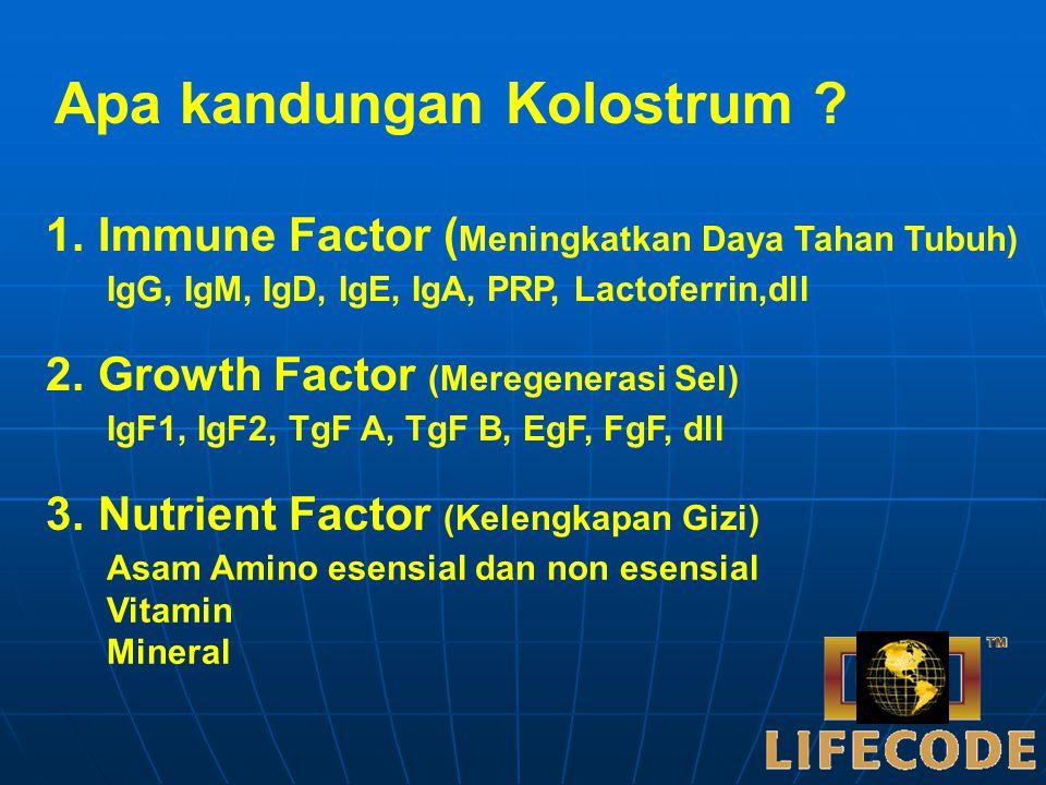 Kolostrum adalah cairan pertama yang dihasilkan oleh manusia dan hewan mamalia untuk menyusui (memberi makan) bayinya. Manusia memproduksi Kolostrum h