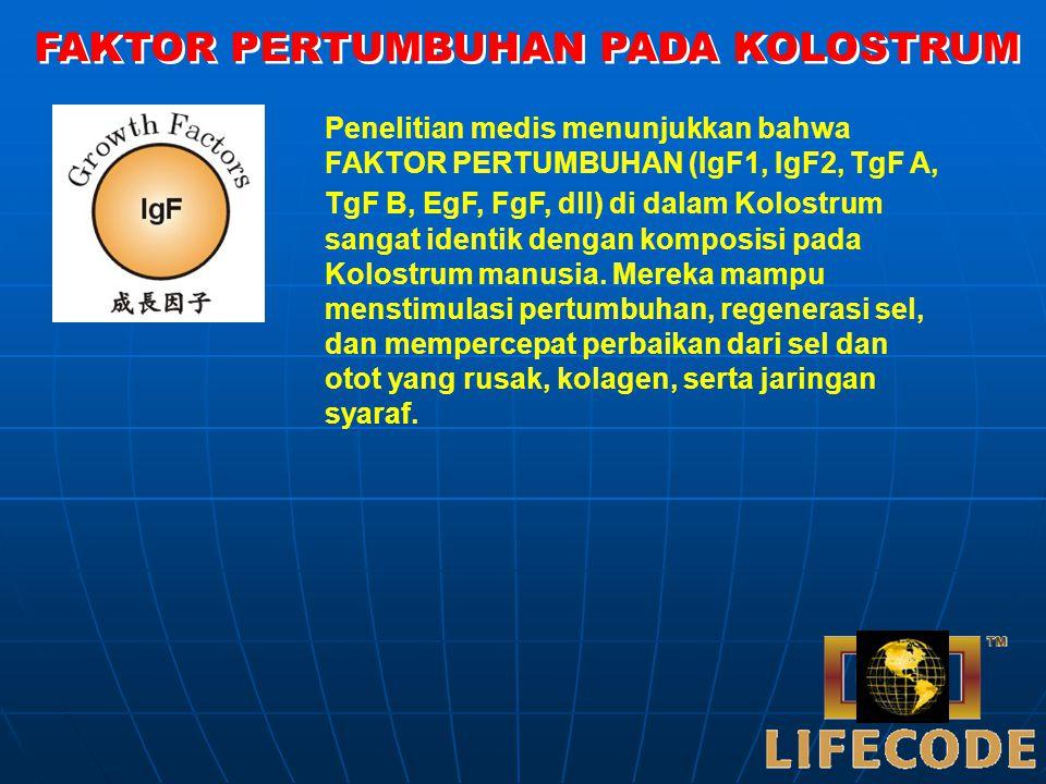 Protein khusus, berfungsi sebagai penghantar mineral besi (Fe), mencegah infeksi lambung, Anti Bakteri.