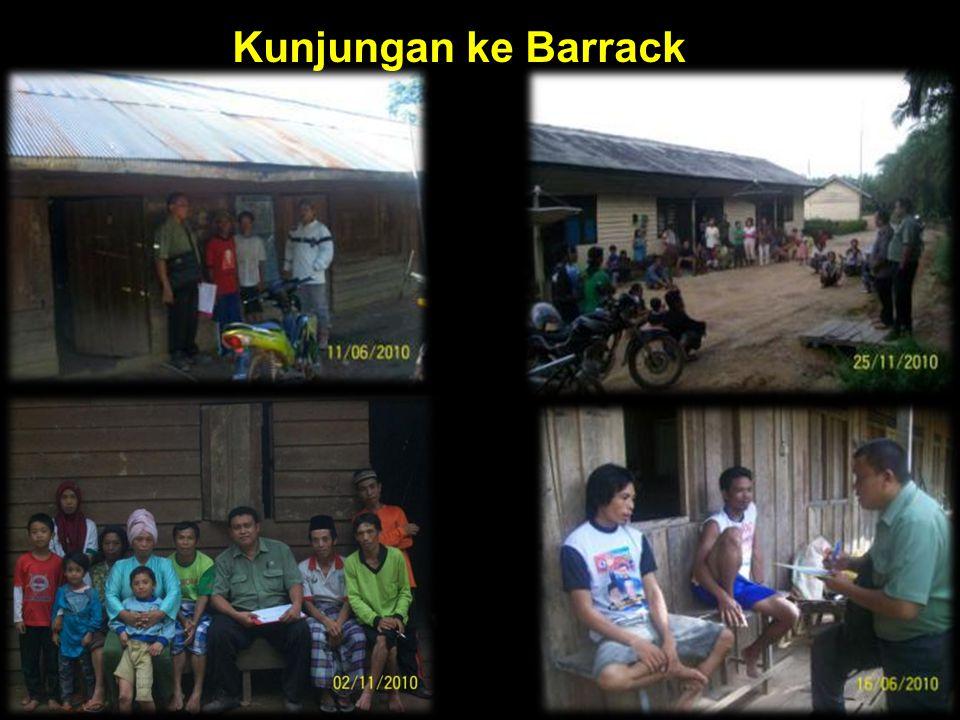 Kunjungan ke Barrack