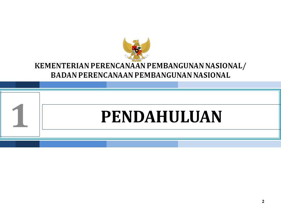 KEMENTERIAN PPN/ BAPPENAS Prioritas Pengembangan Wilayah Papua 23