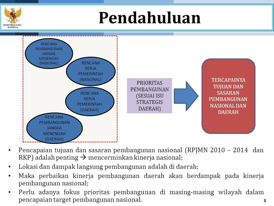 KEMENTERIAN PPN/ BAPPENAS Strategi Pelaksanaan MP3EI 14 STRATEGI UTAMA 1.