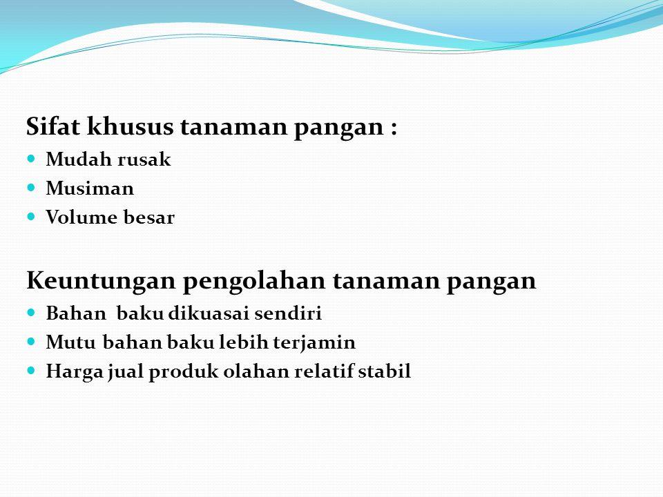 TEKNOLOGI PENGOLAHAN DAN PENANEKARAGAMAN KONSUMSI Peningkatan konsumsi terigu masyarakat Indonesia pada lima tahun terakhir adalah sebagai berikut :  Tahun 2003: 7,21 Kg/kapita/tahun  Tahun 2006: 8,25 Kg/kapita/tahun  Tahun 2008: 11,21 Kg/kapita/tahun ( setara dengan 2,58 juta Ton/Tahun)  Konsumsi tepung terigu tersebut secara bertahap harus dialihkan pada tepung dari umbi-umbian.