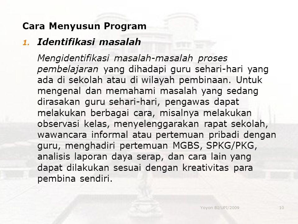 Cara Menyusun Program 1.