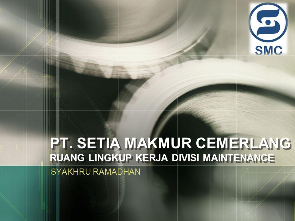 PERANAN PROGRAM PERAWATAN www.themegallery.com Bahan Baku Aktifitas Proses Produksi Produk Sistem kesiapan sarana produksi (Alat/Mesin) Program Perawatan Input Output
