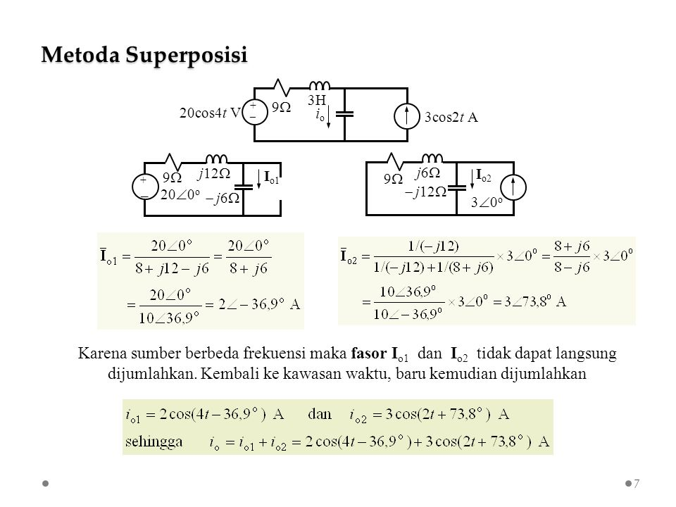 Kuliah Terbuka Analisis Rangkaian Listrik Di Kawasan Fasor Sesi 3 Sudaryatno Sudirham 38