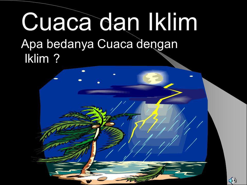 AWAN (CLOUDS)  Awan adalah titik-titik air yg halus, dengan diameter 0,02 – 0,06 mm.