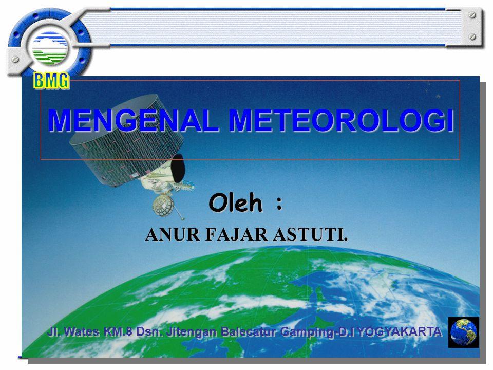 Fungsi alat : Sensor Pengukur Suhu udara, Kelembaban, Tekanan Udara, Arah angin, kecepatan angin, curah hujan, Penyinaran, suhu tanah.