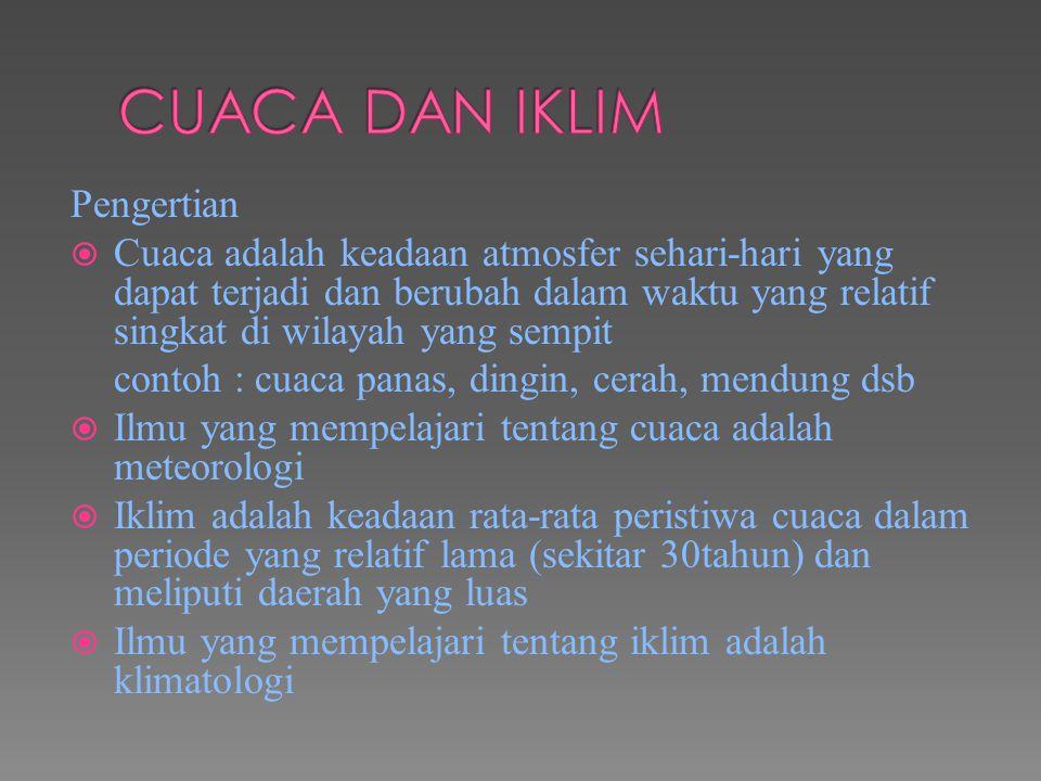 e.Klasifikasi Iklim Menurut Junghuhn F.