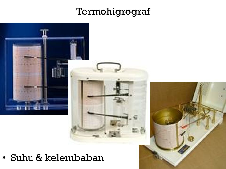 Termohigrograf • Suhu & kelembaban