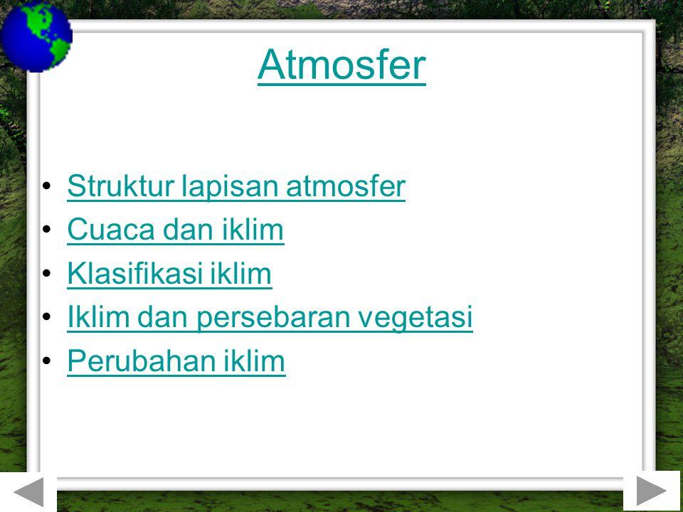 Atmosfer berasal dari kata 'atmos yang berarti gas dan sphaira yang berarti lingkaran.