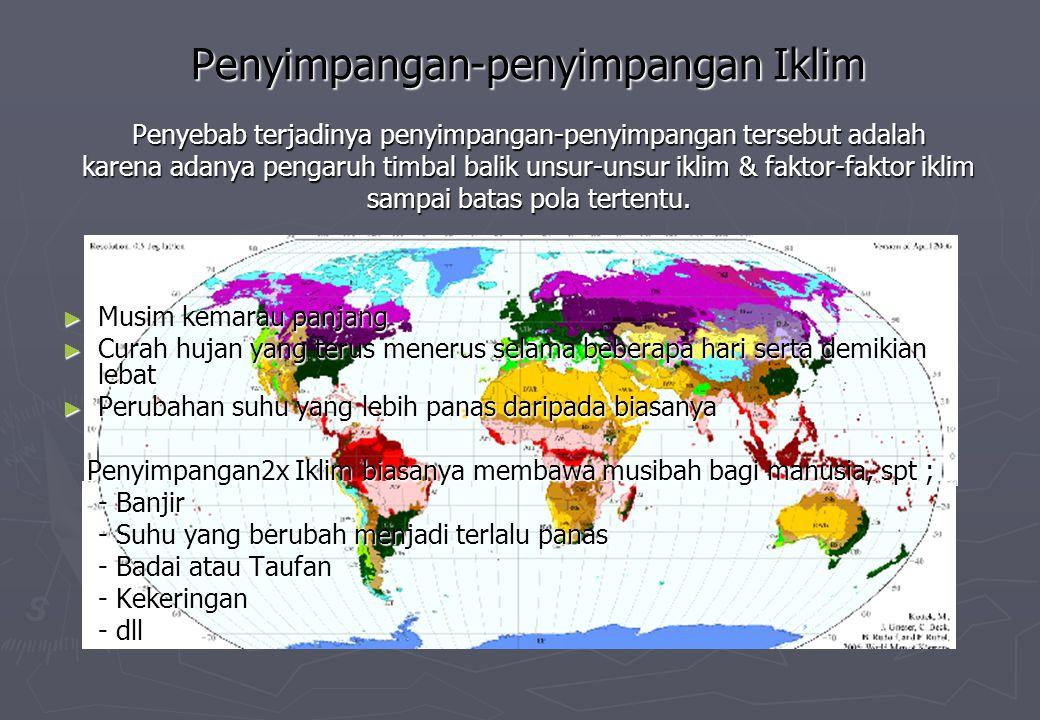Terjadinya Angin Laut Tempertur Daratan > Temperatur Lautan Tekanan Udara di laut > daripada di darat, Maka terjadilah pergerakan masa udara dari laut kedaratan Biasanya terjadi pd siang hari