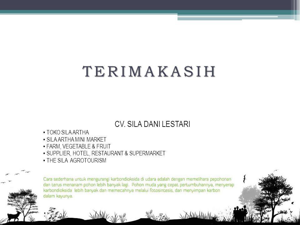 TERIMAKASIH CV.