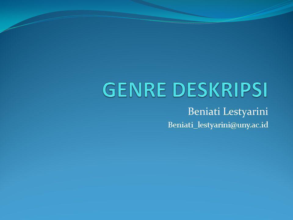 Beniati Lestyarini Beniati_lestyarini@uny.ac.id