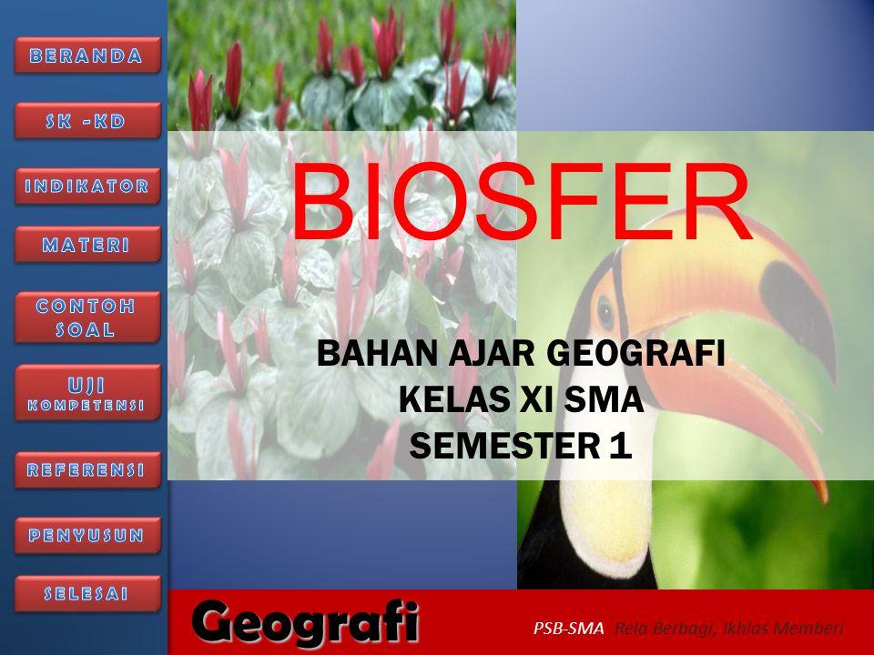 6/27/2014326/27/2014 Geografi PSB-SMA Rela Berbagi, Ikhlas Memberi 5.