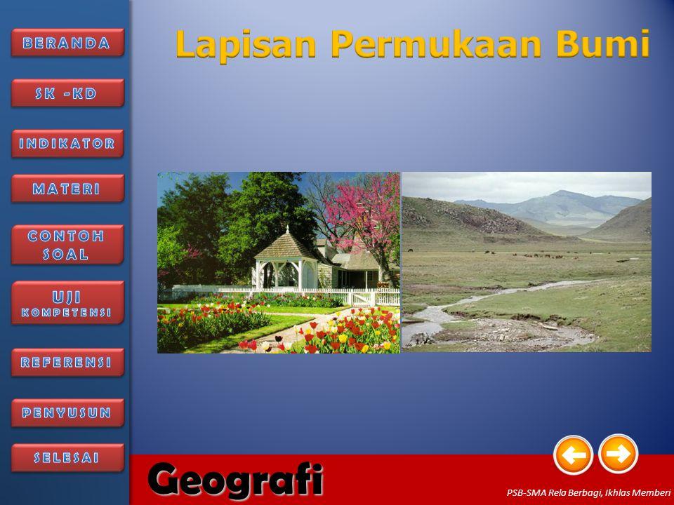 6/27/20145 Geografi PSB-SMA Rela Berbagi, Ikhlas Memberi Biosfer terdiri dari kata bio yang berarti hidup dan sphere yang berarti lapisan.