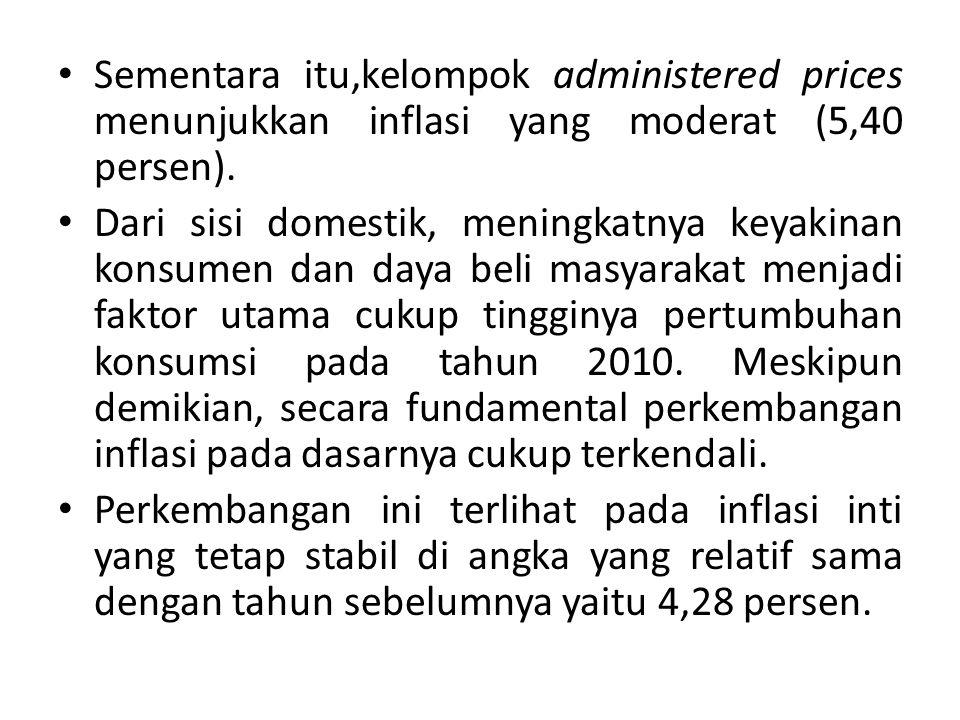 • Sumatera dan Kawasan Timur Indonesia merupakan dua kawasan dengan kenaikan inflasi yang paling tinggi dipengaruhi oleh tekanan produksi pangan akibat gangguan anomali cuaca ditengah masih terbatasnya kapasitas produksi lokal untuk memenuhi konsumsi masyarakat setempat.