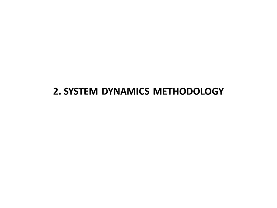 Overview of the System Dynamics Approach Richardson, George P.