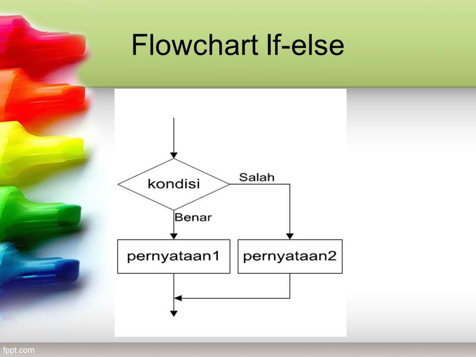 Flowchart If-else