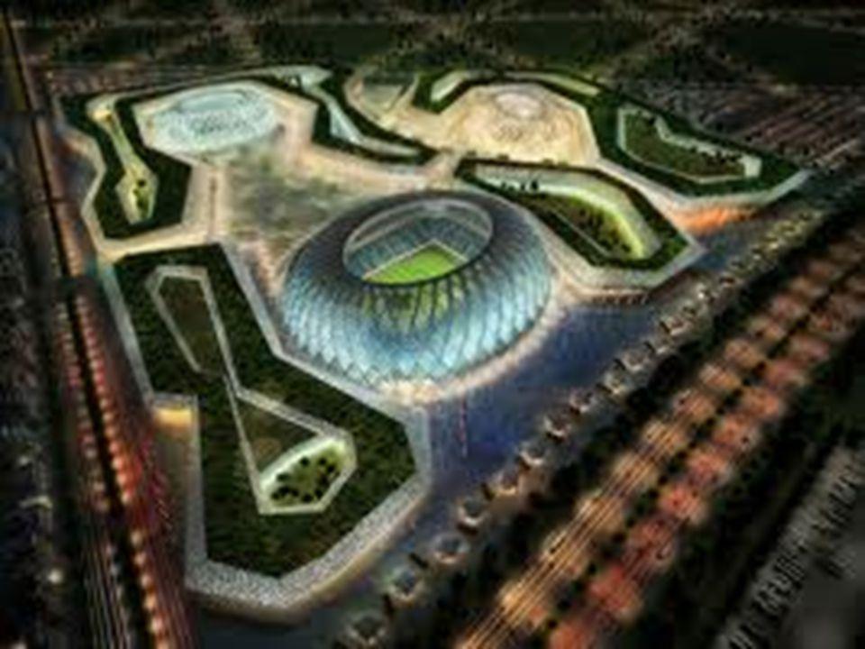 KESIMPULAN • Pembangunan Qatar Stadium membawa dampak negatif dan positif bagi masyarakat sekitarnya • Pembangunan boleh – boleh saja dilakukan, akan tetapi juga harus memperhatikan faktor lingkungan • Tetap berusaha untuk melestarikan lingkungan  Bila tidak bisa memulai dengan sesuatu hal yang besar, mulailah dengan sesuatu yang kecil, seperti membuang sampah pada tempatnya 