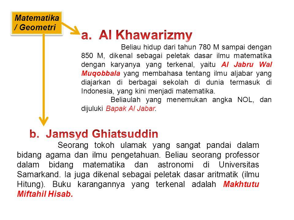 1. Al Faroby Nama len gkapnya Abu Nasr Muhammad bin Muhammad bin Turkham bin Awzalagh Al Faroby, beliau juga pencipta alat musik yang dinamai Al Qonun