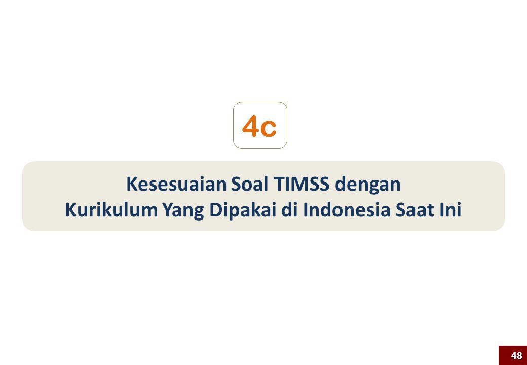 Kesesuaian Soal TIMSS dengan Kurikulum Yang Dipakai di Indonesia Saat Ini 4c 48