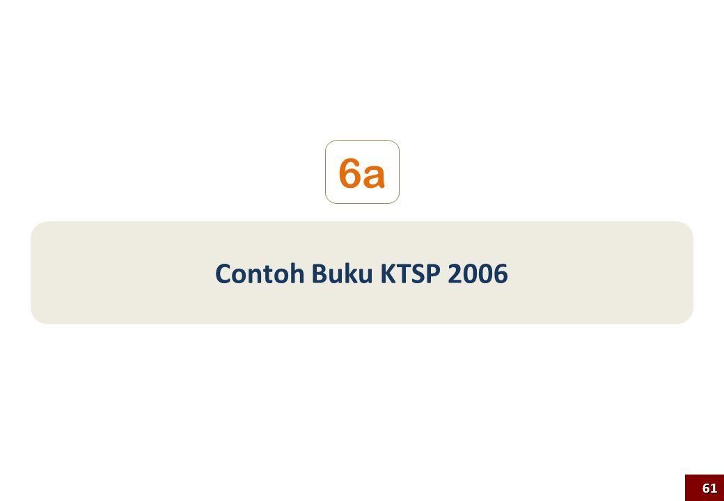 Contoh Buku KTSP 2006 6a 61